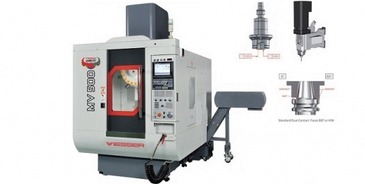 Wiesser M Series CNC Tapping and Drilling Center