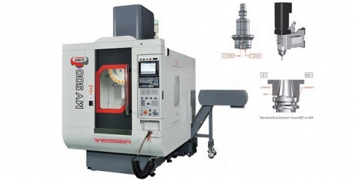 Wiesser P Series CNC Tapping and Drilling Center